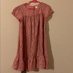 New Oshkosh boho pink dress size 5T girl